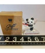 Valentine Figurine Avon Gift Collection Cloud Nine Cupid 2 1/2 Tall Pand... - $7.84