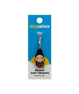 Tiny Saints Blessed Justo Takayama CHARM - Bracelets, Backpacks, Gifts, NEW - $9.31