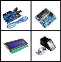 ! Fingerprint Module for arduino kit Optical fingerprint sensor + UNO R3... - $53.91