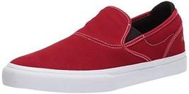 Emerica Men's Wino G6 Slip-ON Skate Shoe, Red/White/Black, 12 Medium US - $26.46