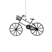 Northlight Black and Silver Vintage Style Bicycle Christmas Ornament - $8.65