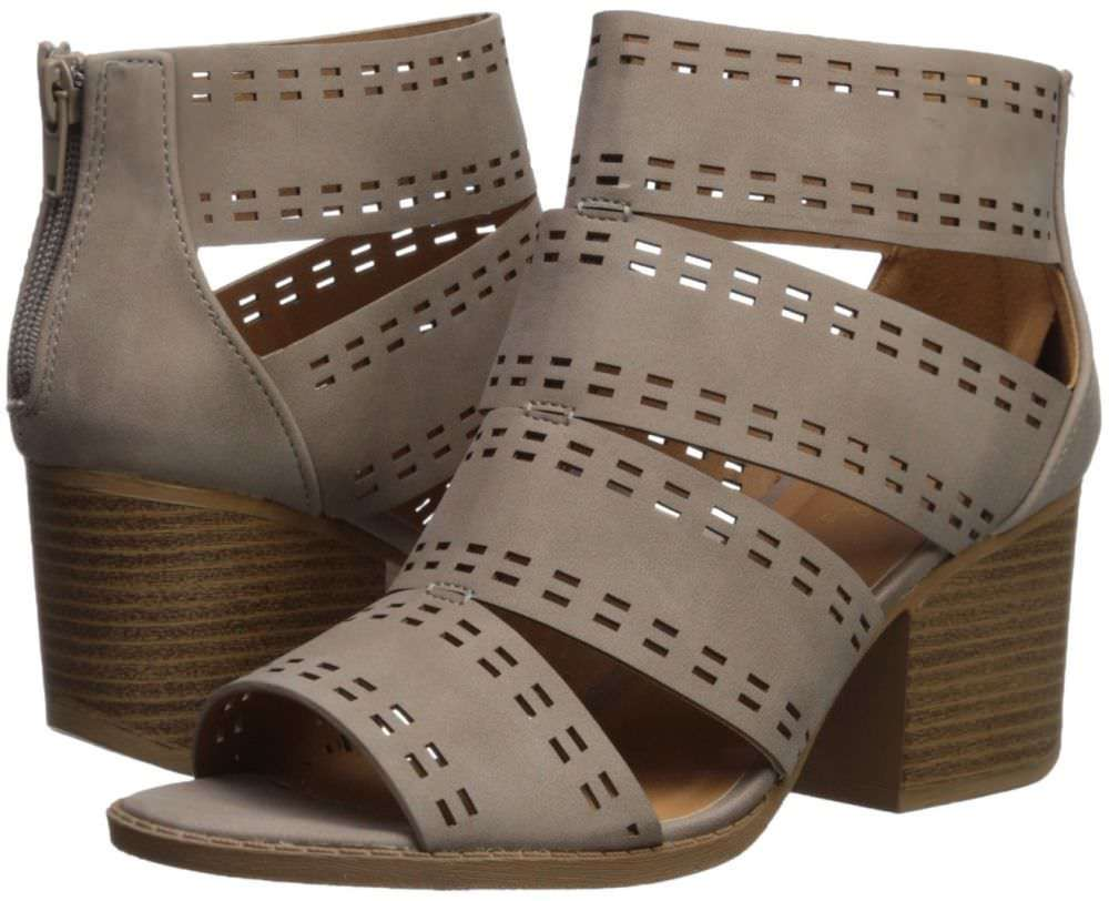 e218c8e8bd4 Qupid Women s Core-57 Perforated Heeled and 50 similar items
