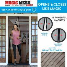 Magic Mesh Deluxe- Black- Hands Free Magnetic Screen Door image 3