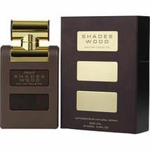Armaf Shades Wood Edt Spray 3.4 Oz For Men - $36.63
