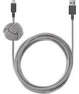 Native Union - 10' Lightning Night Cable - Zebra NCABLE-KV - €44,25 EUR