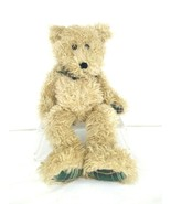 "Vintage The Boyds 1985-1998 J. B. Beans Series Brown Plaid Jointed Bear 16"" - $13.98"