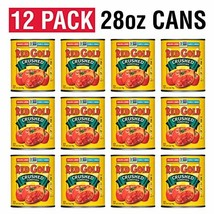 Red Gold Crushed Tomatoes, 28 Ounce Pack of 12