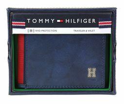 Tommy Hilfiger Men's Leather Credit Card Id Traveler Rfid Wallet 31TL240004 image 3