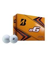 4 Dozen Bridgestone E6 Golf Balls White - $79.95