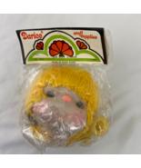 Vintage Darice Mitzi Doll Head and Hand Yellow Hair - $3.95