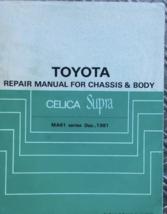 1982 1983 1984 1985 Celica Supra Repair Manual for Chassis & Body MA61 S... - $69.25