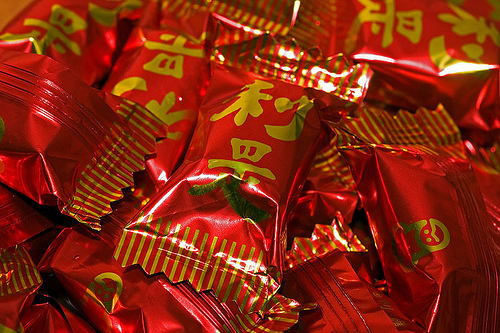 GARDEN Lucky Candy, Strawberry Flavor, (利是糖) Best for Chinese New Year
