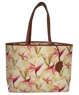 NEW TOMMY BAHAMA WOMEN'S DESTIN TOTE BEACH BAG BIRDS OF PARADISE - $79.15