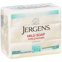 Jergens Mild Soap Bars 3-ct. Packs Bar Soap Lather up name's been trusted - $8.88+