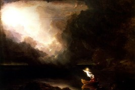 The Voyage Of Life Old Age Stages Of Human Life Painting By Thomas Cole Repro - $10.96+