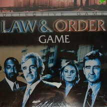 Law And Order Detective Board Game New Sealed Metal Tin Box - £10.07 GBP