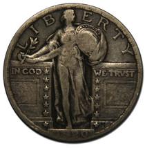 1920 STANDING LIBERTY QUARTER 25¢ Coin Lot# MZ 3629
