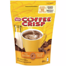 4 Bags Nestle Coffee Crisp Hot Chocolate Mix 18 Servings 450g Each -Cana... - $32.62