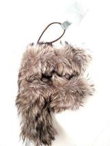Aspen for Target Letter F Monogram Holiday Ornament Grey Faux Fur Initial - $2.99
