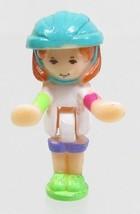 1994 Vintage Polly Pocket Dolls Polly on the Go - Daisy Bluebird Toys - $7.50