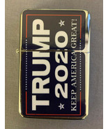 Trump 2020 D1 Flip Top Oil Lighter Windproof - $12.82