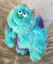 "Disney Pixar Monsters, Inc. Mini Poseable 6"" Plush Sulley Hasbro 2001 Cl... - $11.88"
