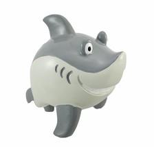 "Coin Bank Smirking Great White Shark Money Safe 8.0"" long - $22.76"