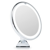 Fancii 7X Magnifying Lighted Vanity Makeup Mirror with 20 Natural LED Ri... - $46.81