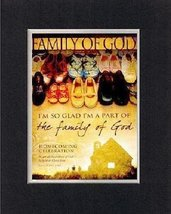 For Homecoming - Family of God . . . 8 x 10 Inches Biblical/Religious Verses set - $11.14