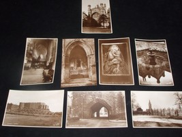 8 VINTAGE PHOTO POSTCARDS PUBLISHED BY WALTER SCOTT FROM THE 1930'S - $32.48