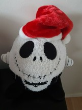 Disney Parks Jack Skellington Nightmare Before Christmas Round Plush Bal... - $22.72