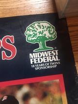"1987 Minnesota Twins World Series Champs Poster 22"" x 34"" image 6"