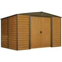 Storage Shed Barn Metal Building 10 x 8 Sliding Lockable Door Outdoor Ga... - $625.09