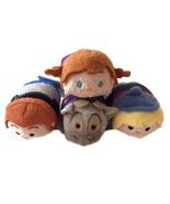 """Disney Tsum Tsum Mini 3.5"""" Plush - Frozen Set (Anna, Hans, Kristoff, Sven) - $14.00"""