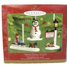 2001 Hallmark Keepsake Ornament Victorian Christmas Memories Thomas Kink... - $9.49