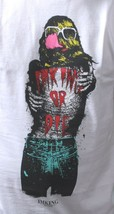 IM King Bianco Uomo Loudmouth Loud Bocca T-Shirt USA Fatto Nwt image 2