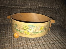 Vintage Collectible Handmade Handcrafted Hand-Painted Dish Holder - $10.00