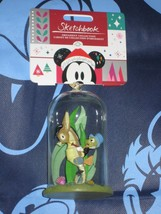 JIMINY CRICKET GLASS DOME Disney Store Sketchbook Ornament. Brand New fo... - $26.39