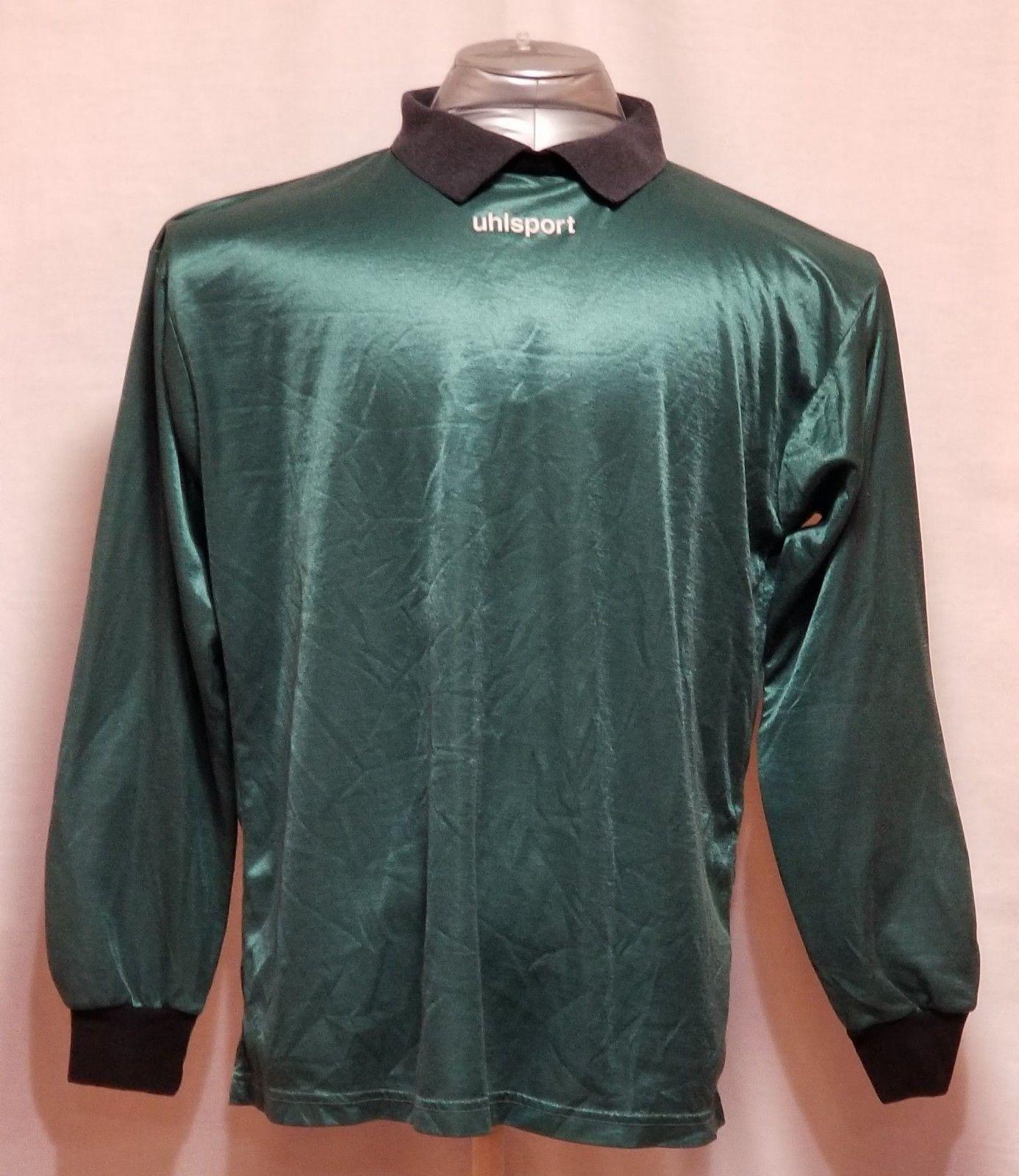 f0c9e3aeb10 Uhlsport Classics Green & Black Goalkeeper and 50 similar items
