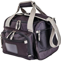 Black Cooler Bag with Zip-Out Liner Zip Main Compartment Lunch Box Mesh ... - €28,32 EUR