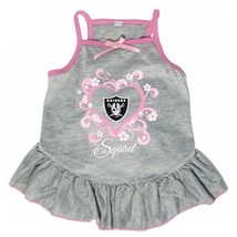 "Oakland Raiders ""Too Cute Squad"" Pet Dress - $17.95"