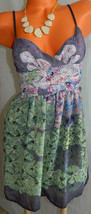 URBAN OUTFITTERS Staring at Stars DRESS Surplice PURPLE GREEN 2 X-Small ... - £23.31 GBP