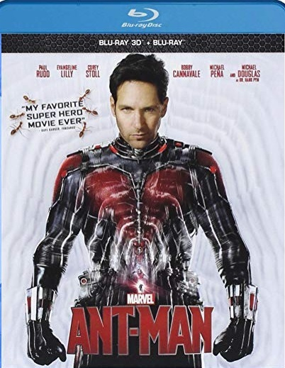 Ant-Man [3D + Blu-ray]
