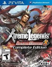 Dynasty Warriors 8: Xtreme Legends, Complete Edition - PlayStation Vita ... - $33.14