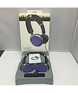 Purple Auvio Color Headphones w/ Microphone Wired Headset - $79.99