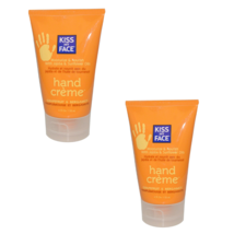 Kiss My Face Hand Creme Cream Grapefruit Bergamot 4 fl oz x 2 Moisturize... - $21.66