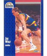 Joe Wolf ~ 1991-92 Fleer #55 ~ Nuggets - $0.05