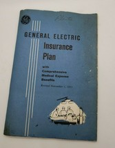 1955 General Electric Insurance Plan booklet - $6.68