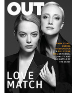 Out Magazine August 2017 - Emma Stone & Andrea Riseborough / The Power 50 - $5.95