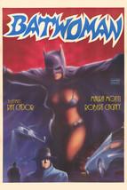 La Mujer Murcielago Cool Batwoman Art 16x20 Canvas - $69.99